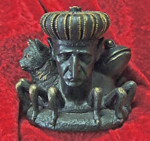Estátua de Baal, espírito da Goetia