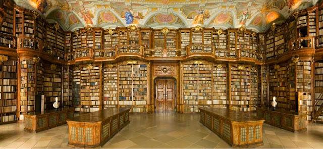 bilioteca monasterio san florian, austria, bibliotecas del mundo, mejores bibliotecas mundo, el zorro con gafas