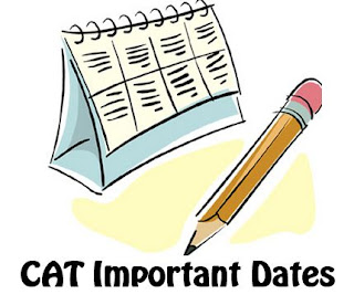CAT 2016 Important dates