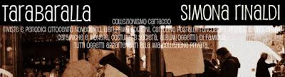 TARABARALLA - Collezionismo Cartaceo di Simona Rinaldi