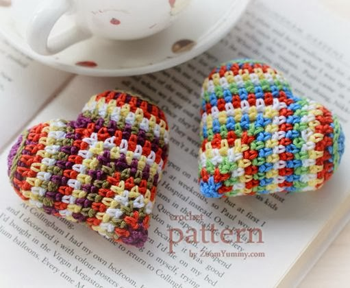 http://zoomyummy.com/happy-colorful-crochet-heart/