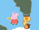 Flying Peppa Pig