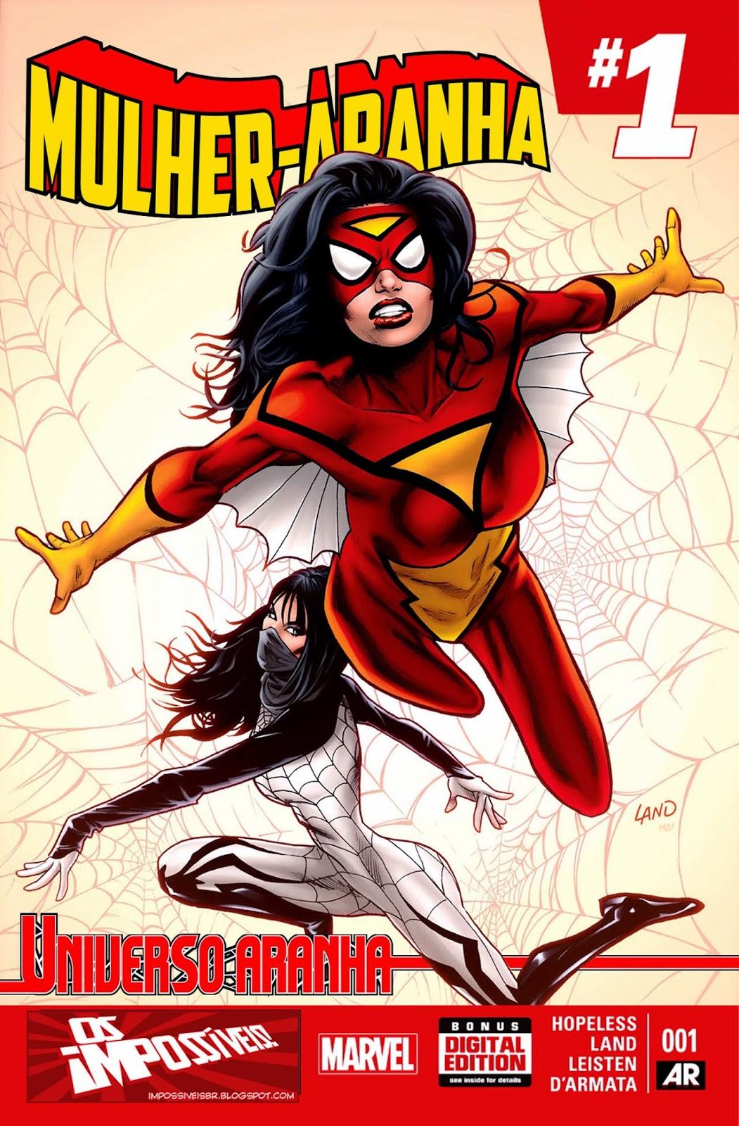 Mulher-Aranha #1