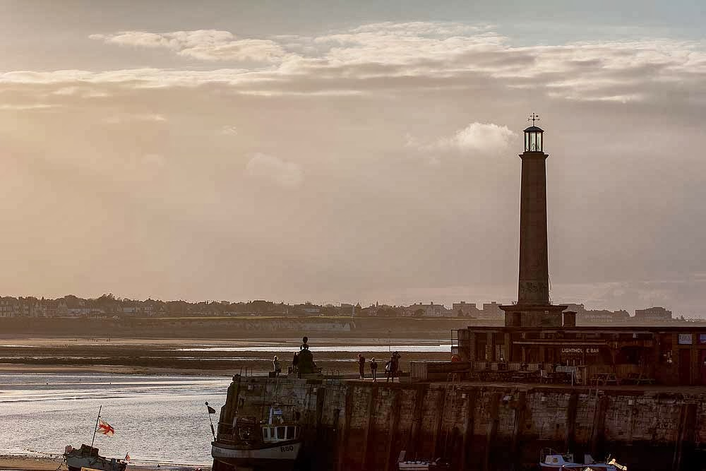 Lighthouse at Margate quay - Kent