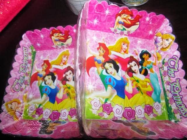 Kit decoracion fiesta princesas disney revoltosos - Decoracion fiesta princesas disney ...
