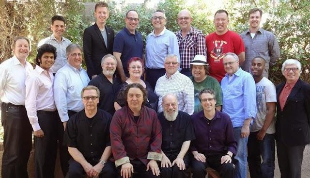 Groupe Master class for mentalist chez Jeff Mcbride en 2013