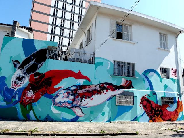 Brazilian Street Artist Titi Freak Newest Urban Mural In Sao Paulo, Brazil. 6