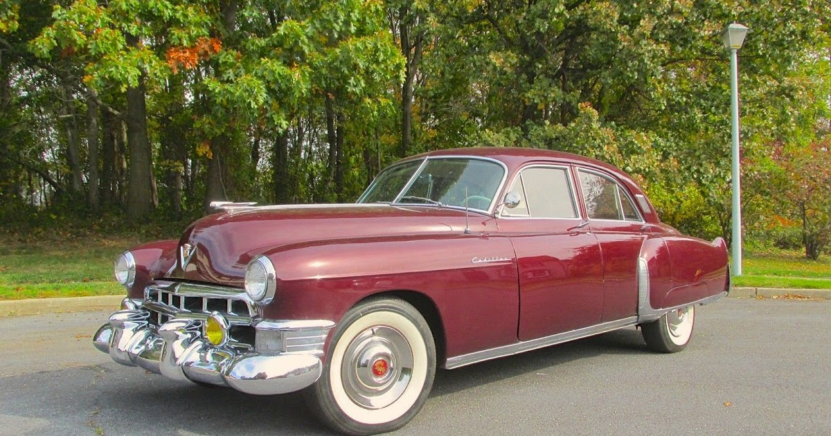 All american classic cars 1949 cadillac sixty special 4 for 1949 cadillac 4 door