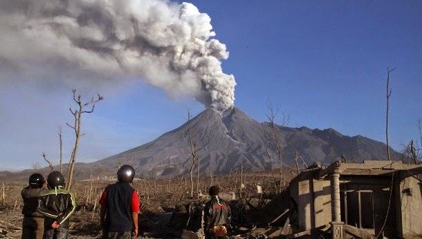 Monte Merapi, Indonésia