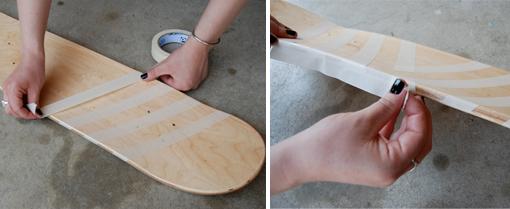 Make A Skateboard Deck Hippanonymous Glitter Skateboard Diy
