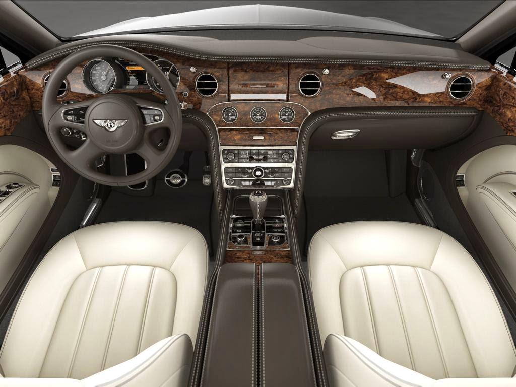 bentley mulsanne interior image