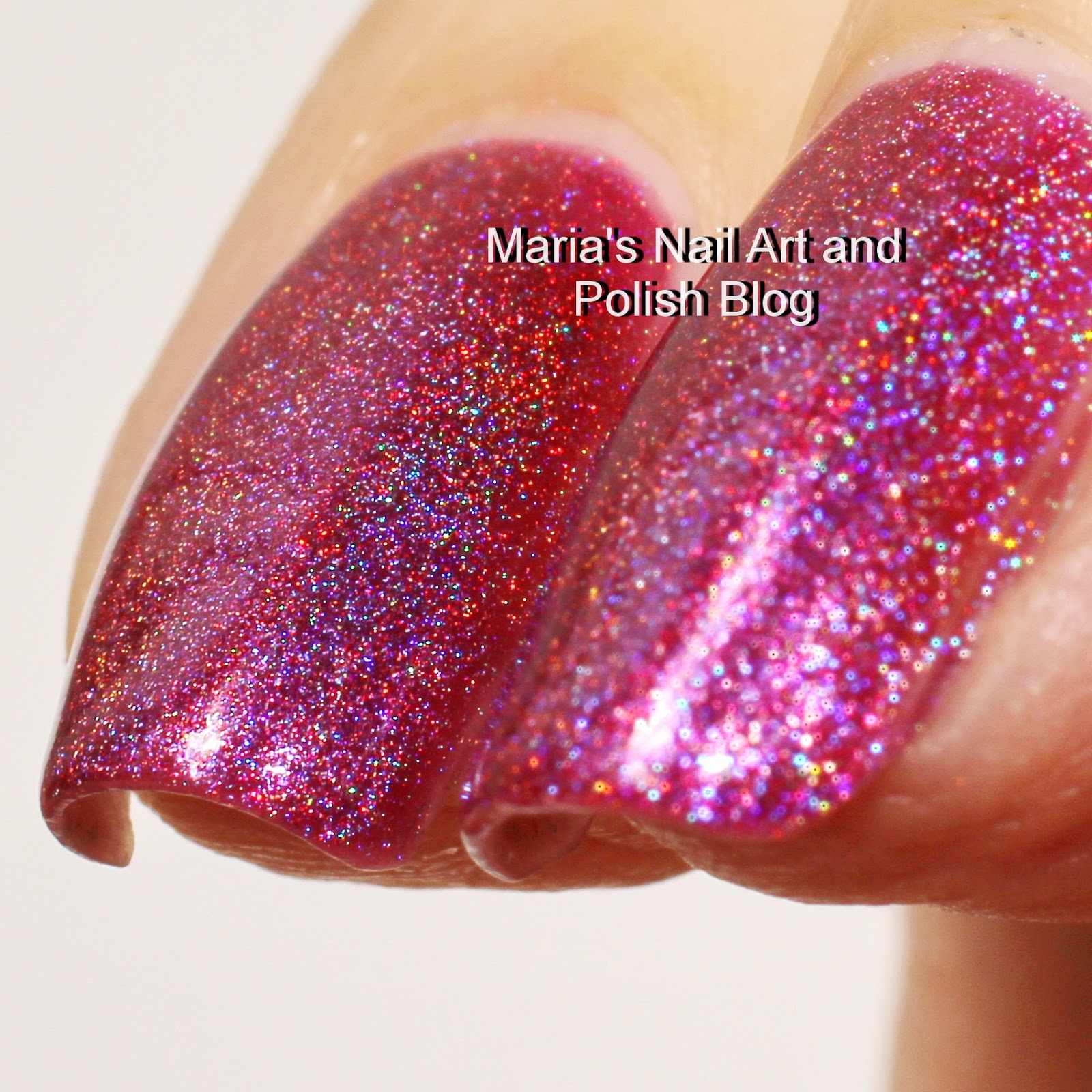 Marias Nail Art And Polish Blog Flushed With Stripes And: Marias Nail Art And Polish Blog: Celestial Cosmetics Red