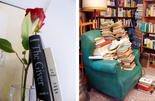 rosa libros sant jordi diada