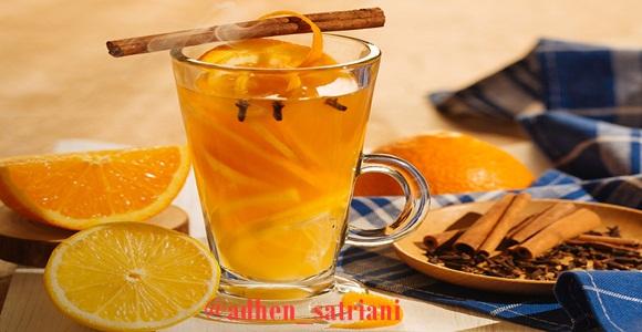 Cara Membuat Minuman Teh Jeruk Lemon