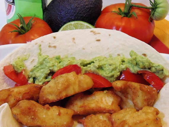 Kudos kitchen by renee beer batter fish tacos for src for Beer battered fish tacos recipe