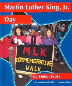 bookcover of Martin Luther King, Jr. Day by Helen Frost