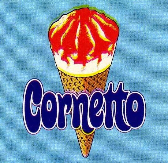 ... do Anúncio do Cornetto