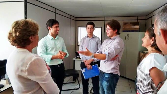 Prefeito Léo Coutinho participa de entrega de moveis e equipamentos no Procon