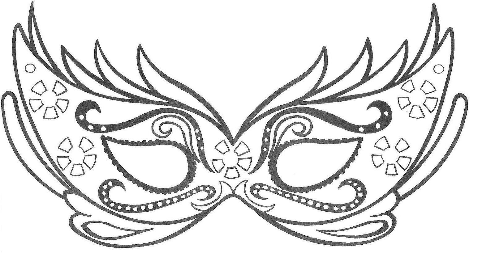 Home Carnaval Modelos E Moldes Para Mascaras De Carnaval