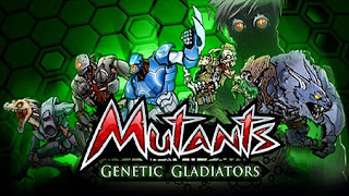 Screenshots of the Mutants Genetic gladiators for Android tablet, phone.