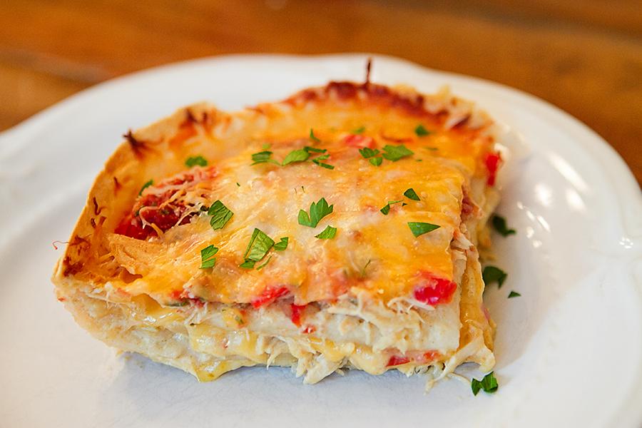 PrepAhead and Dine In: Chicken Tortilla Casserole