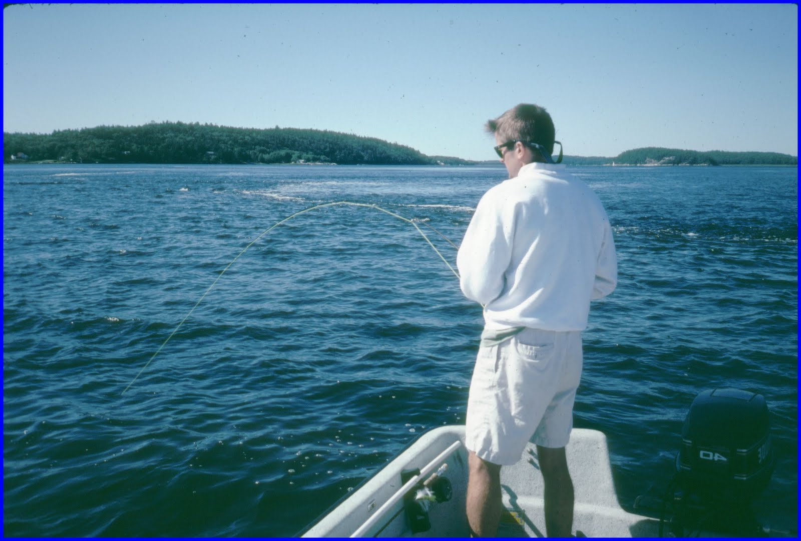 Maine striped bass fishing maine 39 s kennebec river striped for Maine fishing laws
