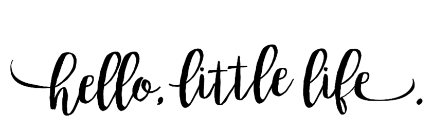 HELLO, LITTLE LIFE