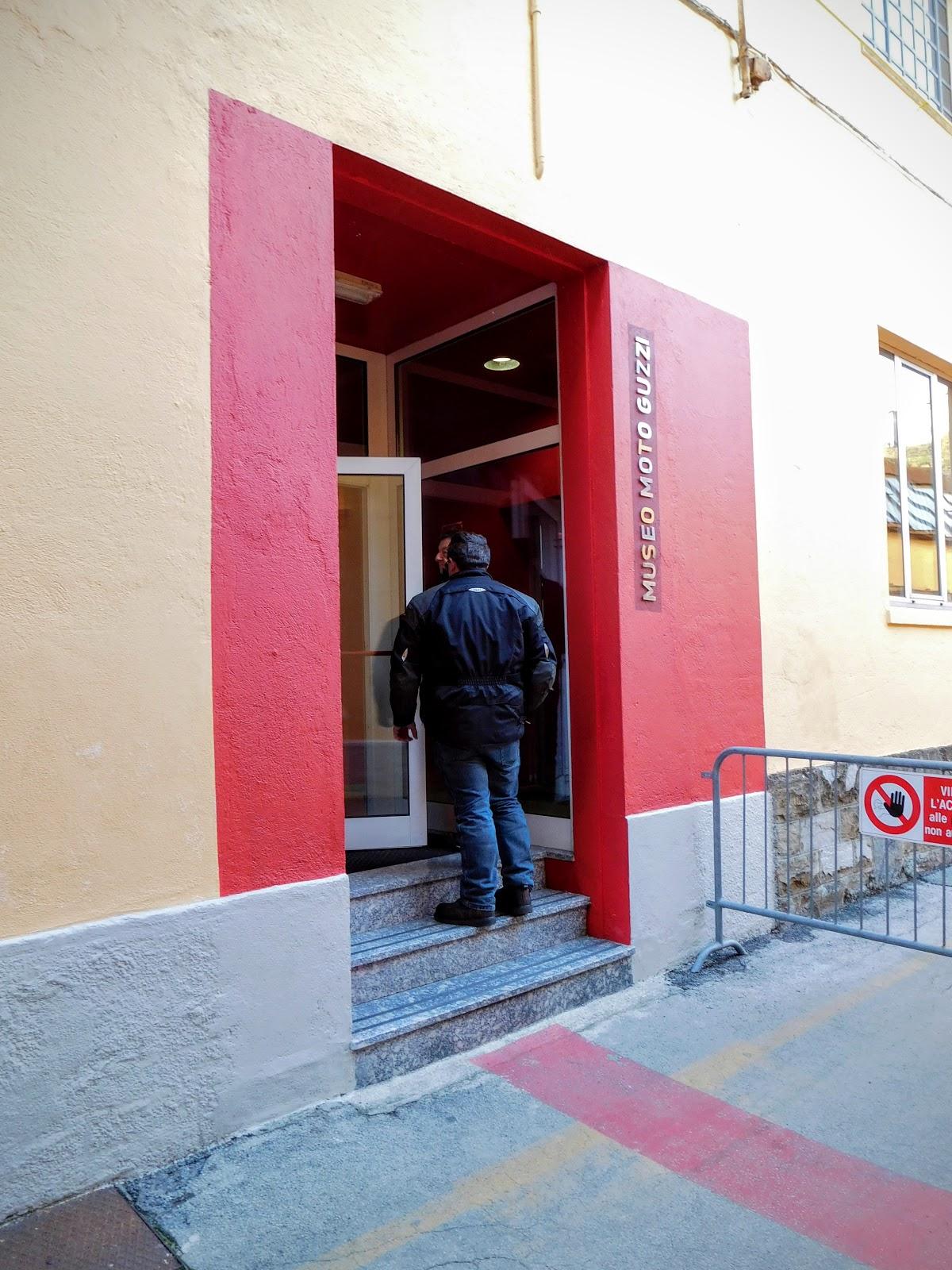 NYDucati visits the Museo Moto Guzzi in Mandello Del Lario, Italy