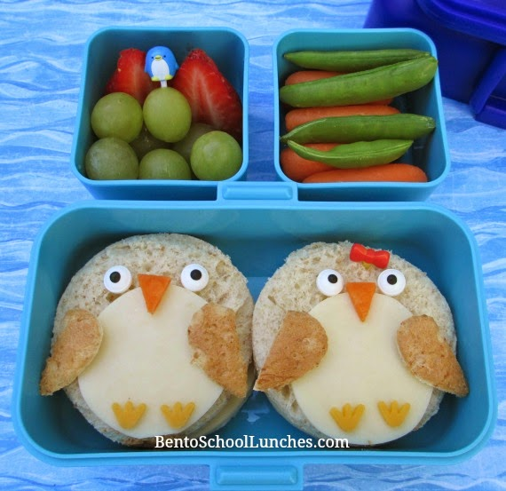 Penguin bento school lunch, Monbento Tresor