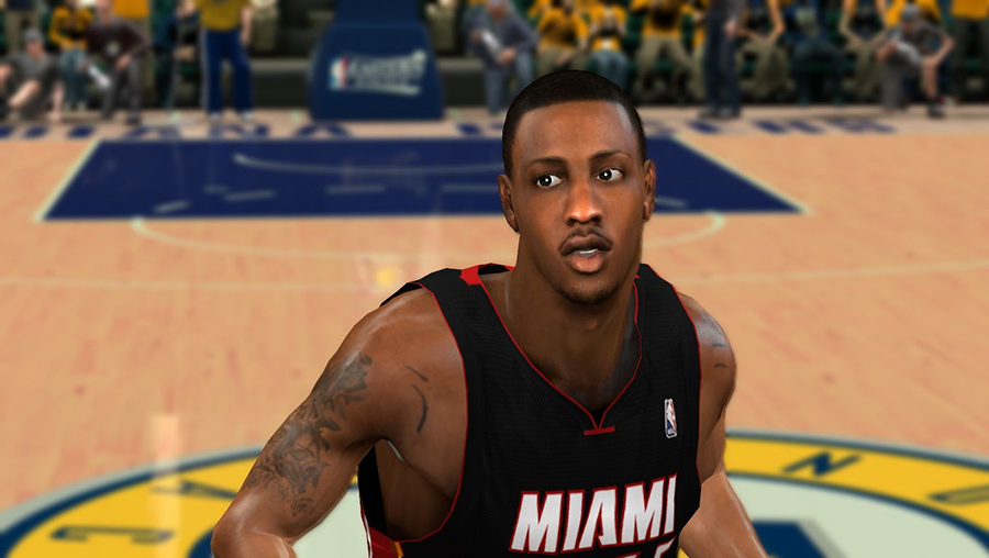 Mario Chalmers Cyberface NBA2K