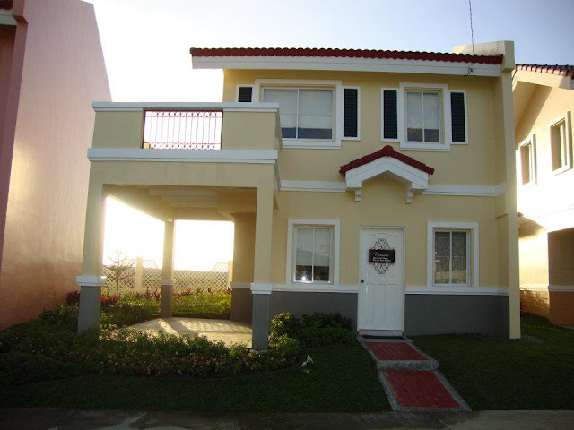 Carmela model house of camella home series iloilo by for Interior house design of camella homes