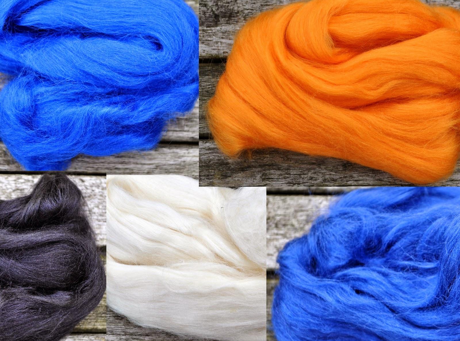 Tussah silke fra Uldgården