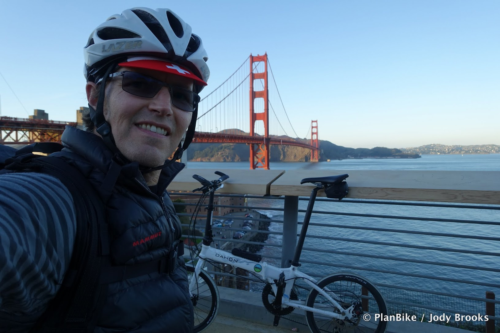 40+ miles on a good Folding Bike is great.
