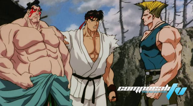 Street Fighter II The Animated Movie DVDRip Español Latino