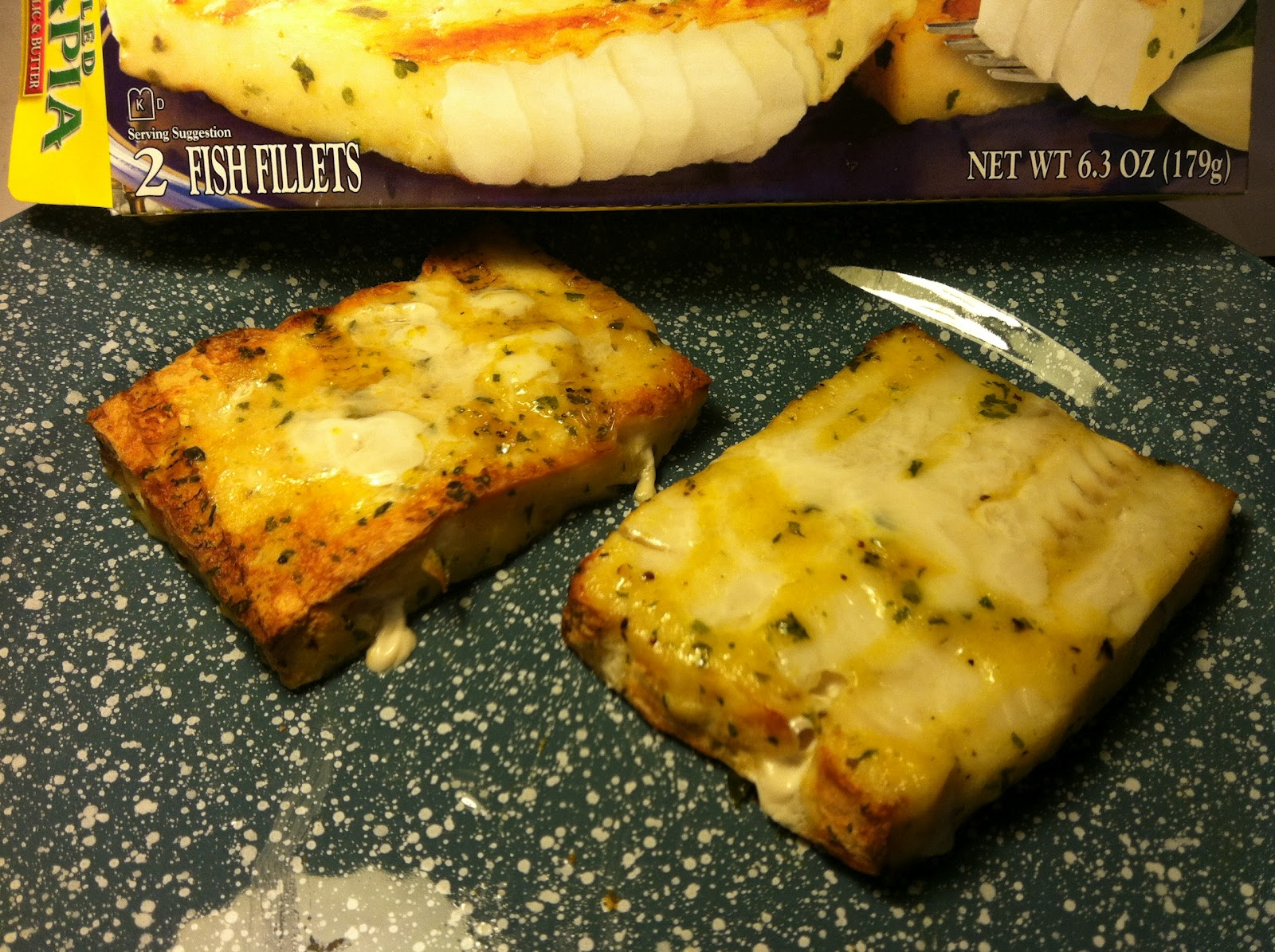 Crazy food dude review gorton 39 s grilled tilapia roasted for Tilapia fish sticks