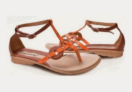 Model sandal wanita santai simple modern terbaru di jual ...