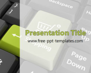 Online Shopping PPT Template | Free PowerPoint Templates