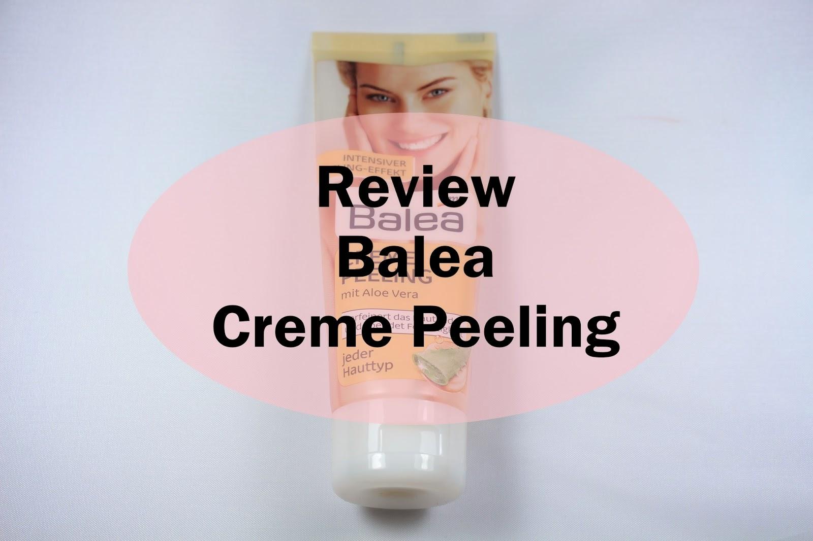 Balea Creme Peeling