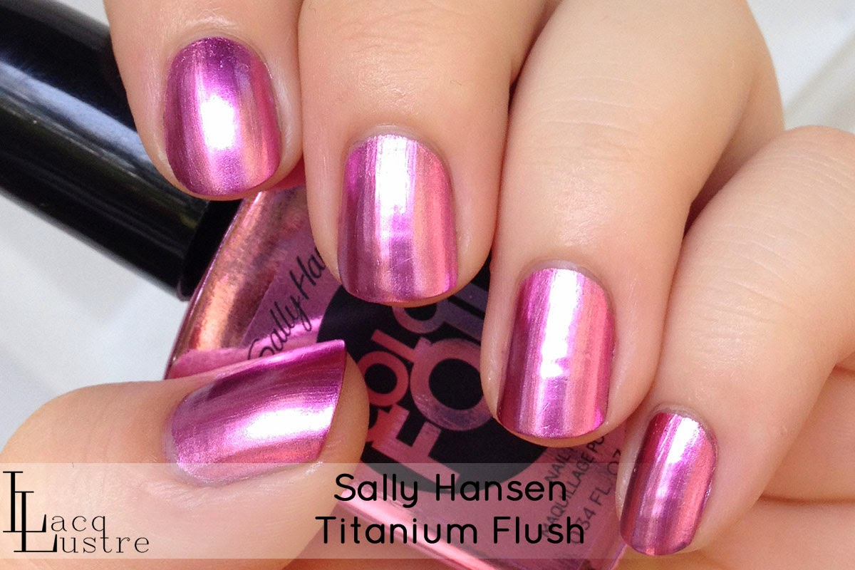 Sally Hansen Titanium Flush swatch