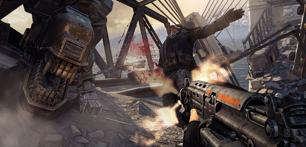 Wolfenstein: The New Order Footage