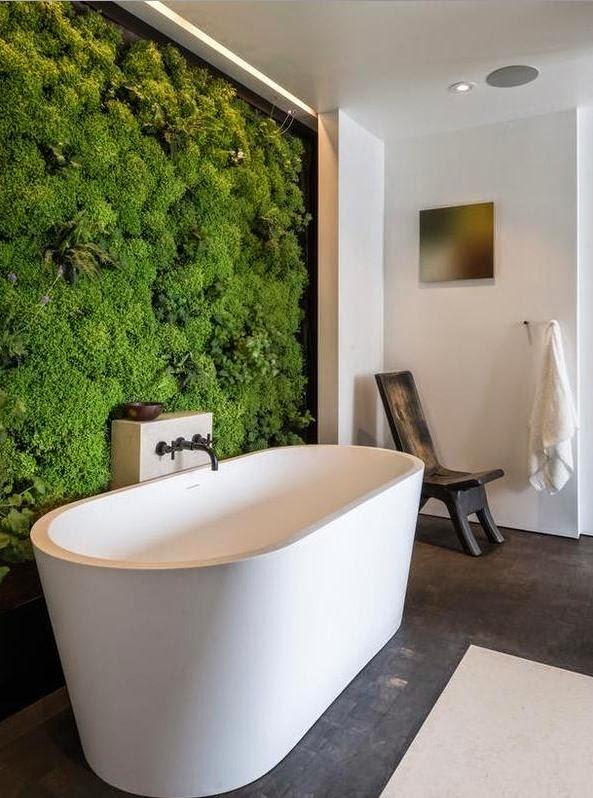 Không gian xanh cho nhà tắm và bếp đang là xu hướng mới nhất