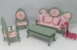 Shabby Chic Parlor Set