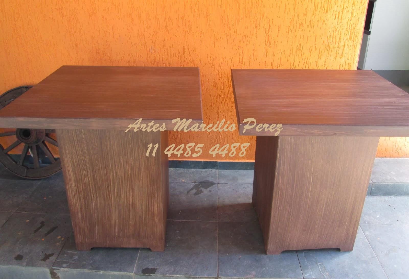 Conjunto mesa cubo R$ 520,00 acompanha 2 cubos  e 2 tampos removiveis de 80x80x80A