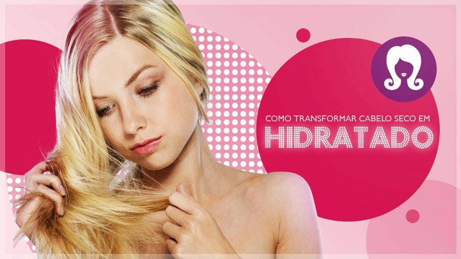 Como transformar cabelo seco em hidratado