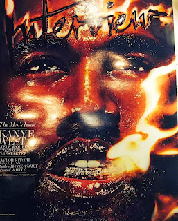 Magazine Cover : Kanye West Magazine Photoshoot Pics on Steven Klein Interview Magazine US February 2014 Issue
