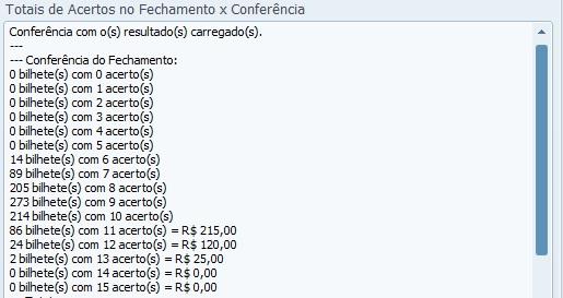 conferencia lotofacil 0908 Resultados de loterias: concurso 0908 da lotofácil