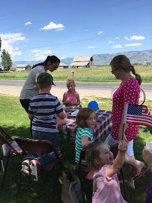 american flag kids fundraiser