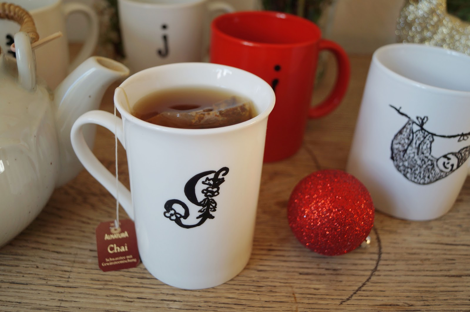 Cozy in Germany: Homemade Christmas gift: customized mugs