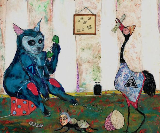 Illustration pour l'hebdo Monde des Livres... ( journal Le Monde daté du 21 sept. 2012)