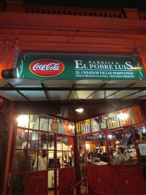 El Pobre Luis, Parrilla, Buenos Aires, Argentina